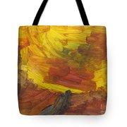 Untitled 117 Original Painting Tote Bag