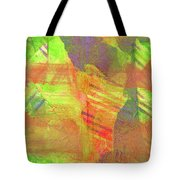 Untitled #13 Abstract Multicolor Tote Bag