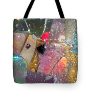 Untitled Abstract Prism Plates II Tote Bag