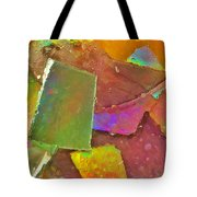 Untitled Abstract Prism Plates IIi Tote Bag