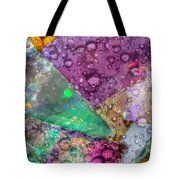 Untitled Abstract Prism Plates V Tote Bag