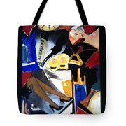 Untitled-collage Painting Tote Bag