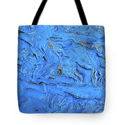 Untitled-weathered Wood Design In Blue Tote Bag
