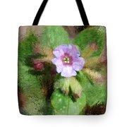 Untitled Floral -1 Tote Bag