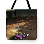 Untitled Grave Tote Bag