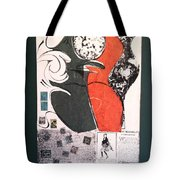Untitled Mixed Media Tote Bag