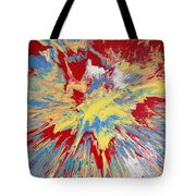 Forces Of Gravity Tote Bag