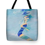 Untitled Swimmer Tote Bag