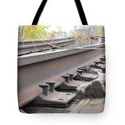 Unused Rail Tote Bag