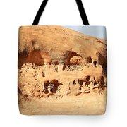 Unusual Rock Formation Tote Bag