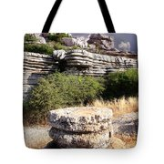 Unusual Rock Formations In The El Torcal Mountains Near Antequera Spain Tote Bag