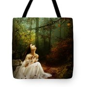 Up Above Where Non Can See Tote Bag by Mary Hood