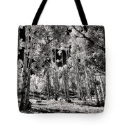 Up Among The Aspens Tote Bag