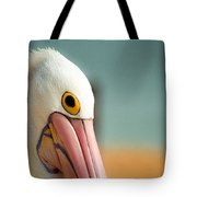 Up Close And Personal With My Pelican Friend Tote Bag by T Brian Jones