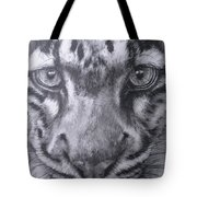 Up Close Clouded Leopard Tote Bag