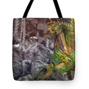 Up Down And Around London Tote Bag