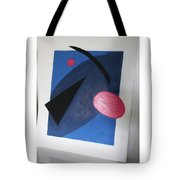 Up In Space Tote Bag