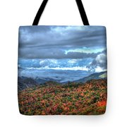 Up In The Clouds Blue Ridge Parkway Mountain Art Tote Bag