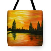 Up North Tote Bag