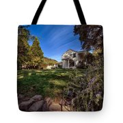 Up On The Hill Tote Bag
