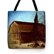 Up On The Ridge Tote Bag