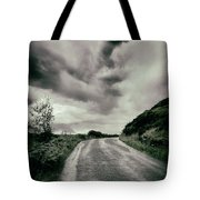 Up That Hill - Dark Tote Bag