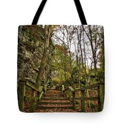 Up The Bluff Tote Bag
