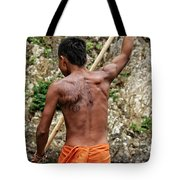 Up The Chagres River Tote Bag