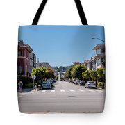 Up The Divisadero Tote Bag