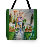 Up The Garden Path Tote Bag