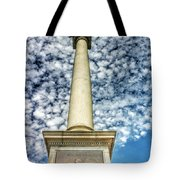 Up The Lovejoy Monument  Tote Bag