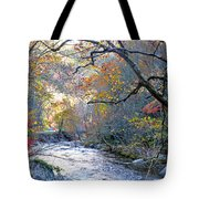 Up The Mountain We Go Tote Bag