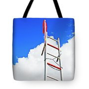 Up The Sky Tote Bag