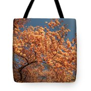 Up To The Cherry Flowers Tote Bag