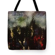 Upheaval Of The Night  Tote Bag