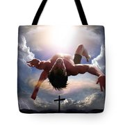 Upheld By Grace Tote Bag