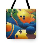 Uphill Climb Revisited. Tote Bag