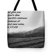 Uplifting Fog Tote Bag