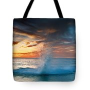 Upon Day's End Tote Bag