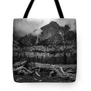 Upper And Lower Yosemite Falls Tote Bag