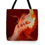 Upper Antelope Canyon Textures Tote Bag