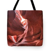 Upper Antelope Lights Tote Bag