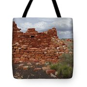Upper Box Canyon Ruin Tote Bag