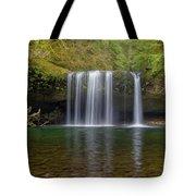Upper Butte Creek Falls In Fall Season Tote Bag