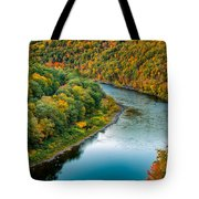 Upper Delaware River Tote Bag