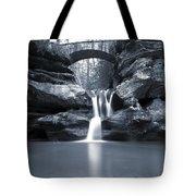 Upper Falls Hocking Hills Ohio Tote Bag