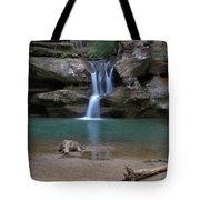 Upper Falls In Hocking Hills Tote Bag