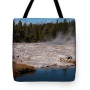 Upper Geyser Basin Tote Bag