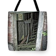 Upper Hoist Doorway Tote Bag