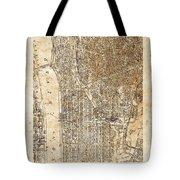 Upper Manhattan Tote Bag